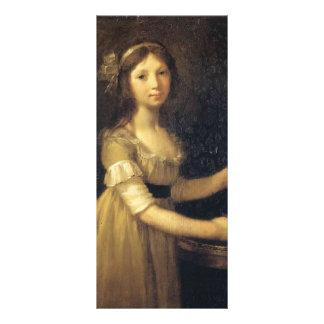 Pierre Prud hon- Marguerite-Marie Lagnier Rack Card Template