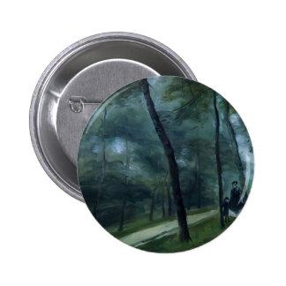 Pierre Renoir- A Walk in the Woods Pin