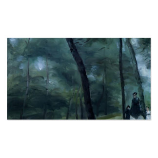 Pierre Renoir- A Walk in the Woods Pack Of Standard Business Cards