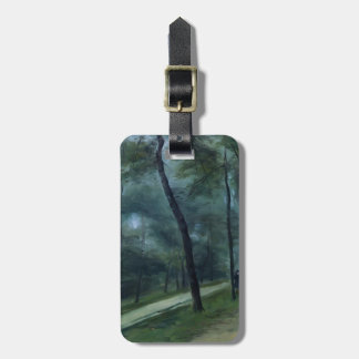 Pierre Renoir- A Walk in the Woods Luggage Tag