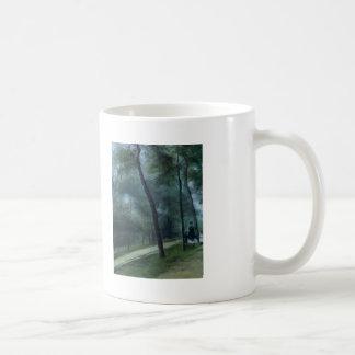 Pierre Renoir- A Walk in the Woods Coffee Mug