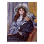 Pierre Renoir-Berthe Morisot &Her Daughter Julie