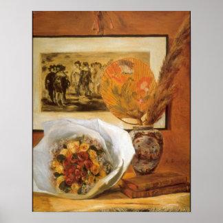 Pierre Renoir - Bouquet Poster
