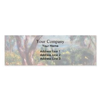 Pierre Renoir- Cagnes Landscape with Woman Child Business Card