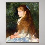 Pierre Renoir - Irene Cahen d Anvers Poster