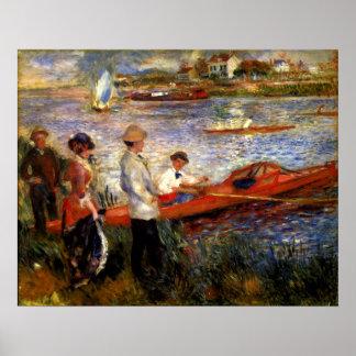 Pierre Renoir - Oarsman of Chatou Poster