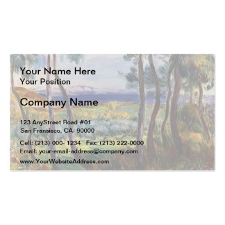 Pierre Renoir- Pines in the Vicinity of Cagnes Pack Of Standard Business Cards