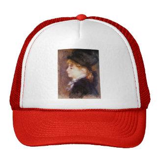 Pierre Renoir- Portrait of Margot Trucker Hat