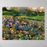 Pierre Renoir - Rose grove Poster