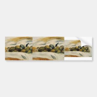 Pierre Renoir- Still Life Almonds and Walnuts Bumper Stickers