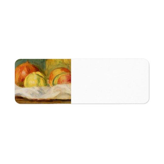 Pierre Renoir-Still Life with Apples &Pomegranates