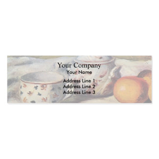 Pierre Renoir- Still Life with Cup and Sugar Bowl Pack Of Skinny Business Cards