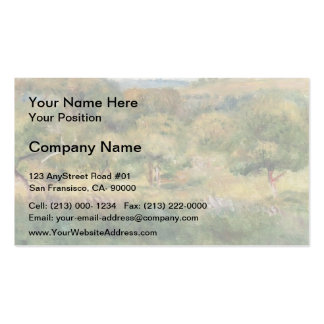 Pierre Renoir- The Edge of the Forest in Brittany Pack Of Standard Business Cards