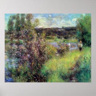 Pierre Renoir - The Seine at Chatou Poster