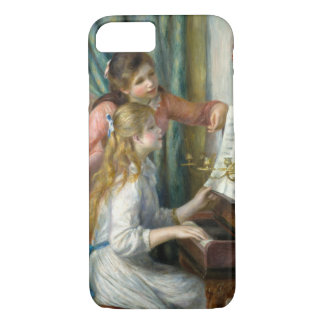 Pierre Renoir - Young Girls at Piano iPhone 8/7 Case