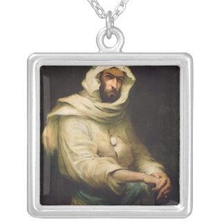 Pierre Savorgnan de Brazza  1886 Silver Plated Necklace