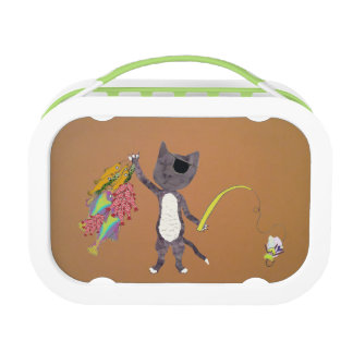 Pierre The FisherCat! Lunch Box