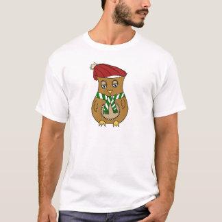 Pierre the Winter Owl T-Shirt