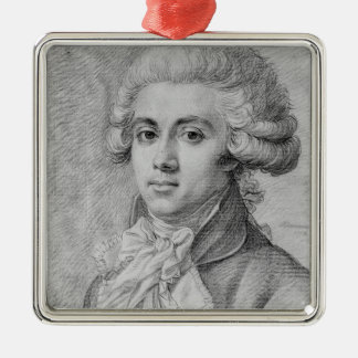 Pierre-Victurnien Vergniaud  1792 Silver-Colored Square Decoration