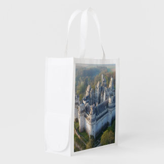 Pierrefonds Castle Reusable Grocery Bag