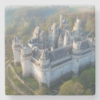 Pierrefonds Castle Stone Coaster