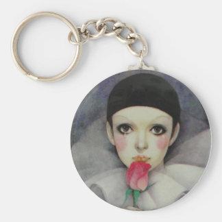 Pierrot 1980s key ring