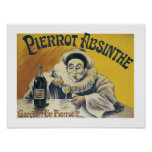 Pierrot Absinthe Print