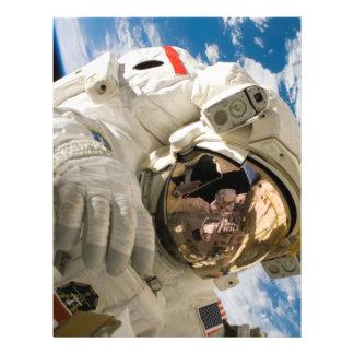 Piers Seller Spacewalk Personalized Flyer