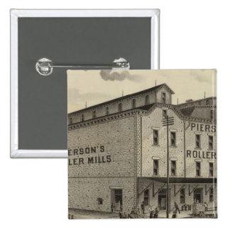 Pierson's Sons 15 Cm Square Badge