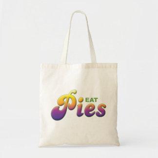 Pies, Eat Tote Bags