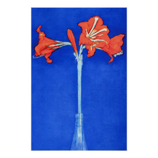 Piet Mondrian - Amaryllis Fine Art Flower Painting Poster