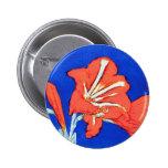 Piet Mondrian - Amaryllis Pinback Buttons