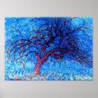 Piet Mondrian - Avond (Evening) The Red Tree Poster