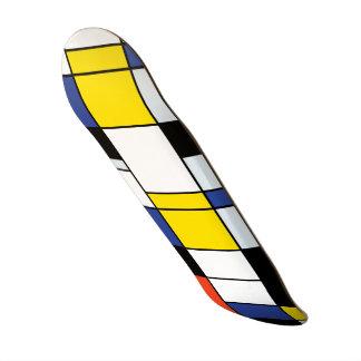 Piet Mondrian Composition A - Abstract Modern Art Skate Board Decks