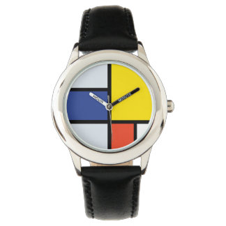 Piet Mondrian Composition A Watch