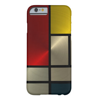 Piet Mondrian Composition (Goldl) Barely There iPhone 6 Case