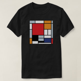 Piet Mondrian - Composition With Large Red Plane T-Shirt