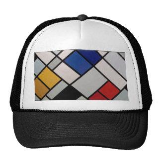Piet Mondrian Modern Art Cap