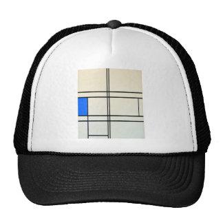 Piet Mondrian Modern Art Mesh Hats