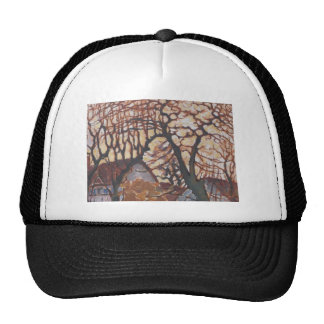 Piet Mondrian Modern Art Hats