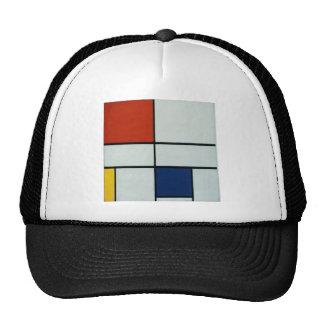 Piet Mondrian Modern Art Trucker Hats