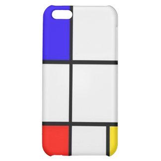 Piet Mondrian Modern Art iPhone 5C Covers
