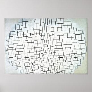 Piet Mondrian Modern Art Print
