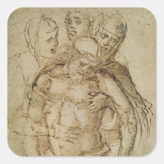 Pieta, attributed to either Giovanni Bellini (c.14 Stickers
