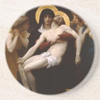 pieta Jesus Christ and Virgin Mary Coaster