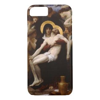 pieta Jesus Christ and Virgin Mary iPhone 7 Case