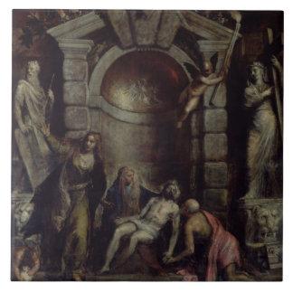 Pieta Ceramic Tile