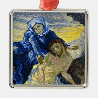Pieta Vincent van Gogh fine art painting Christmas Tree Ornament