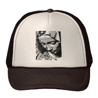 PIETA VIRGIN MARY  TRUCKER HATS