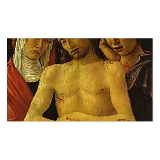 Pieta with the Virgin by Giovanni Bellini Business Cards